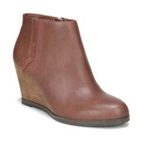 Dr. Scholl's Patch Women's Wedge Ankle Boots